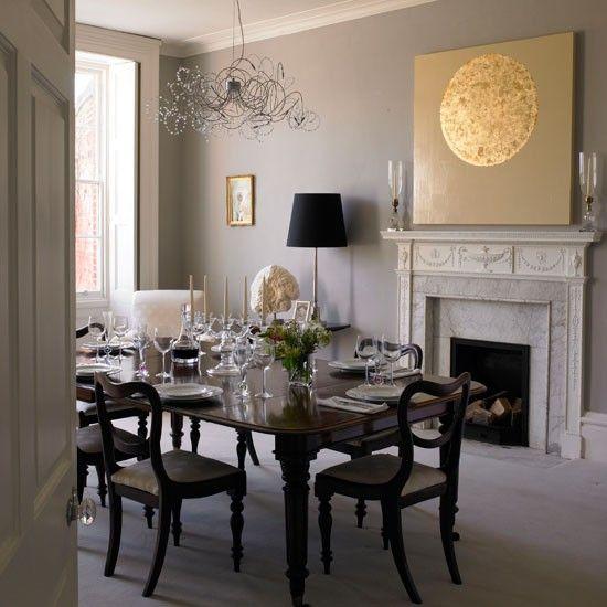 Dining room | Georgian restoration | Homes & Gardens house tour | PHOTO GALLERY | Housetohome.co.uk