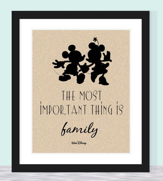 Most Important Thing is Family. $12.50, via Etsy.