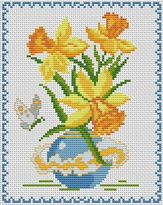 Free cross stitch pattern site.  A TON of patterns.  Beginner-expert in every category possible.