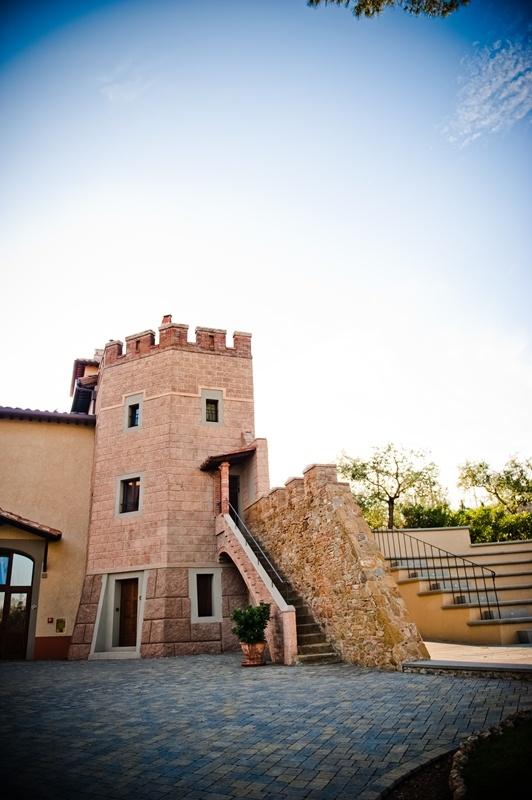 the tower #borgodeicontiresort