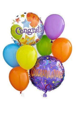 Congratulations Balloon Bunch