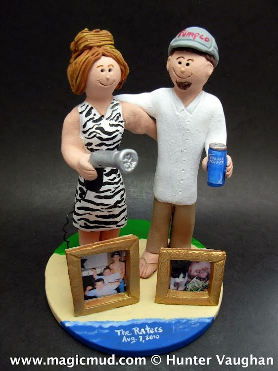 Bud Light Beer Wedding Cake Topper by www.magicmud.com 1 800 231 9814 mailto:magicmud@m... blog.magicmud.com twitter.com/... www.facebook.com/... #beach#beach_destination#surf#ocean#destination#hawaii#caribbean#mexico#wedding #cake #toppers #custom #personalized #Groom #bride #anniversary #birthday#weddingcaketoppers#cake toppers#figurine#gift#wedding cake toppers