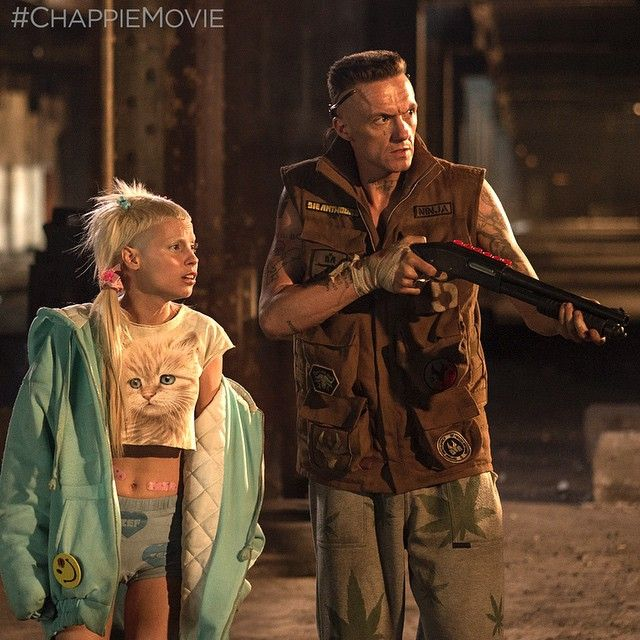 ninja yolandi chappie movie (2015) not My normal #GG picture ... But also this is #costumedesign
