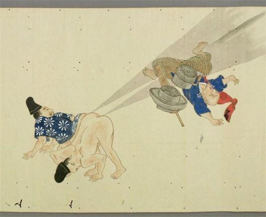 Onara battle - kusaiiii ! edo period -合気じば道場