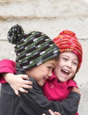 Детская шапка крючком по спирали
