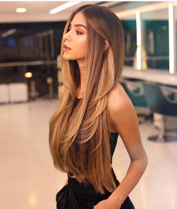 Gorgeous balayage long hair. The definition of healthy feminine radiance.  #femi…