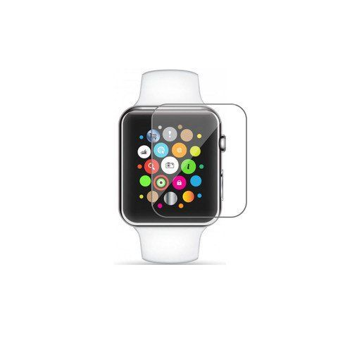 Apple Watch 38mm Tempered Glass Screen Protector. Each screen protector comes with an incredible LIFETIME WARRANTY. 9H SCRATCH RESISTANT eliminates any worry about unsightly blemishes to the screen. Wipe away finger prints easily due to our SMUDGE PROOF coating. Our highly sensitive SOFT TOUCH enabled glass ensures that there is zero lag. Our glass has been HAMMER TESTED to ensure its strength against impact.
