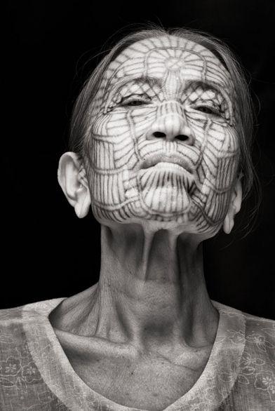 Burmese facial tattooing