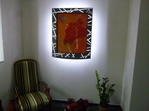 plus de 25 id es uniques dans la cat gorie cadre lumineux sur pinterest tableau lumineux. Black Bedroom Furniture Sets. Home Design Ideas