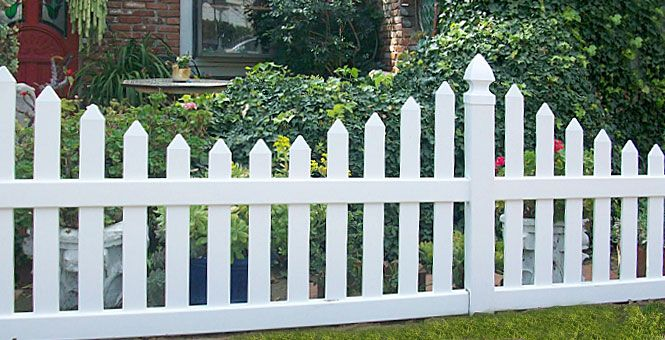 17 Best Images About White Fence Ideas On Pinterest