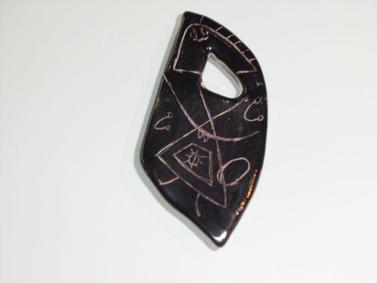 ceramic form / pendant