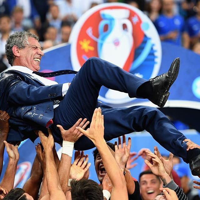 Fernando Santos: the mastermind behind Portugal's success. #PORFRA #EURO2016
