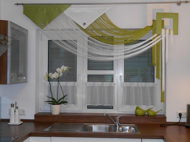 die besten 25 k chenfenster vorh nge ideen auf pinterest vorh nge f r die k che vorh nge. Black Bedroom Furniture Sets. Home Design Ideas