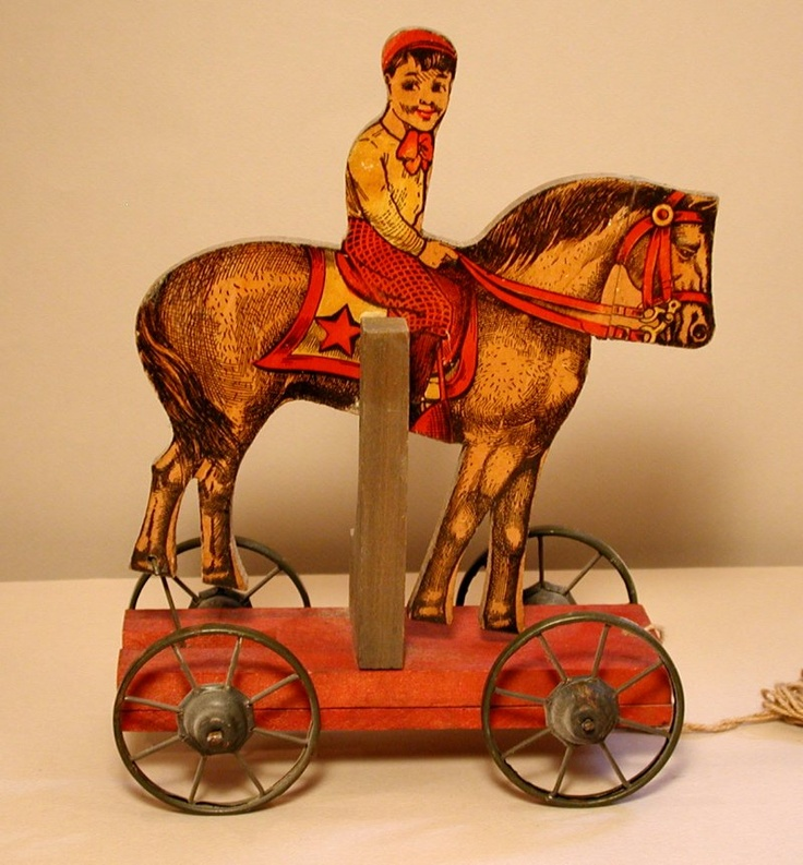 Horse Toys For Boys : Best antique toys images on pinterest old fashioned