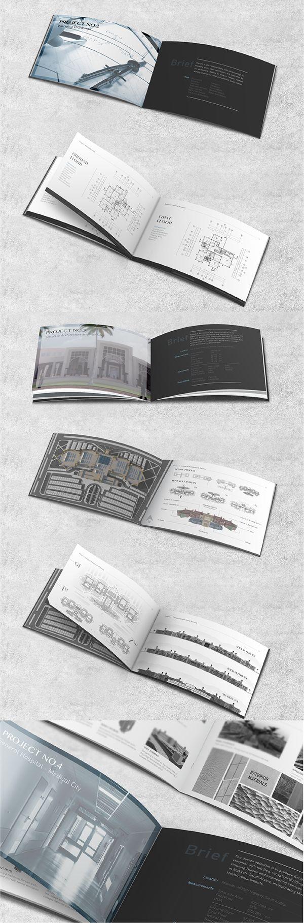 Architecture Portfolio on Behance