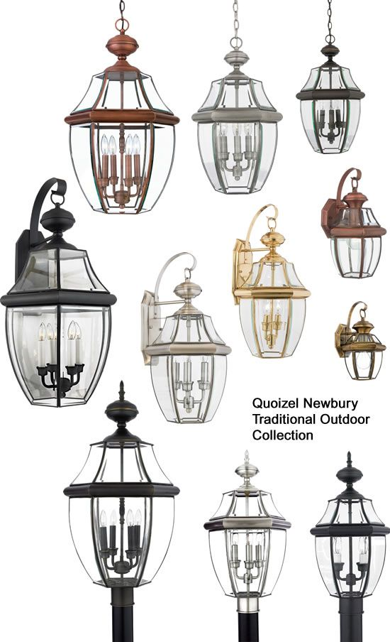 Quoizelu0027s Newbury Traditional Outdoor Collection Has Wall, Ceiling, Post  And Hanging Lanterns In Sizes. Lighting SaleOutdoor LightingBrass Material Discount ...