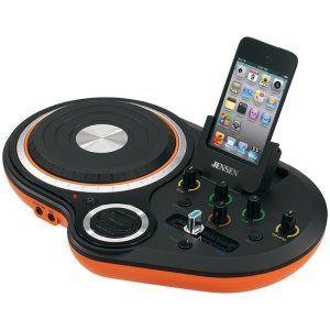 Gadget Gift Ideas: Jensen JENJDJ500 DJ Scratch Mixer