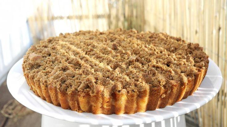 Šťavnatý a křupavý jablečný koláč