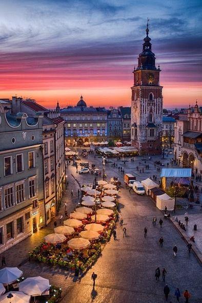 View of Main Square in Krakow. #packingmysuitcaseblog