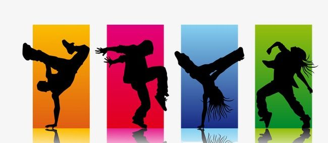 Street Dance Png And Clipart Dancing Clipart Kids Room Canvas Art Poster Background Design