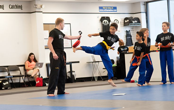 MOMENTUM - this skill will help students improve force and speed in their movements.