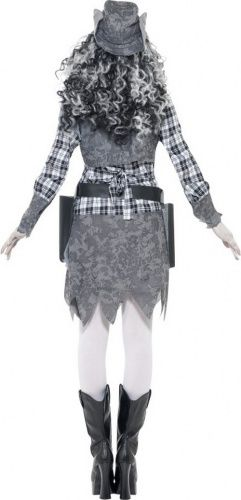 Spook Cowgirl kostuum voor dames Halloween pak-2