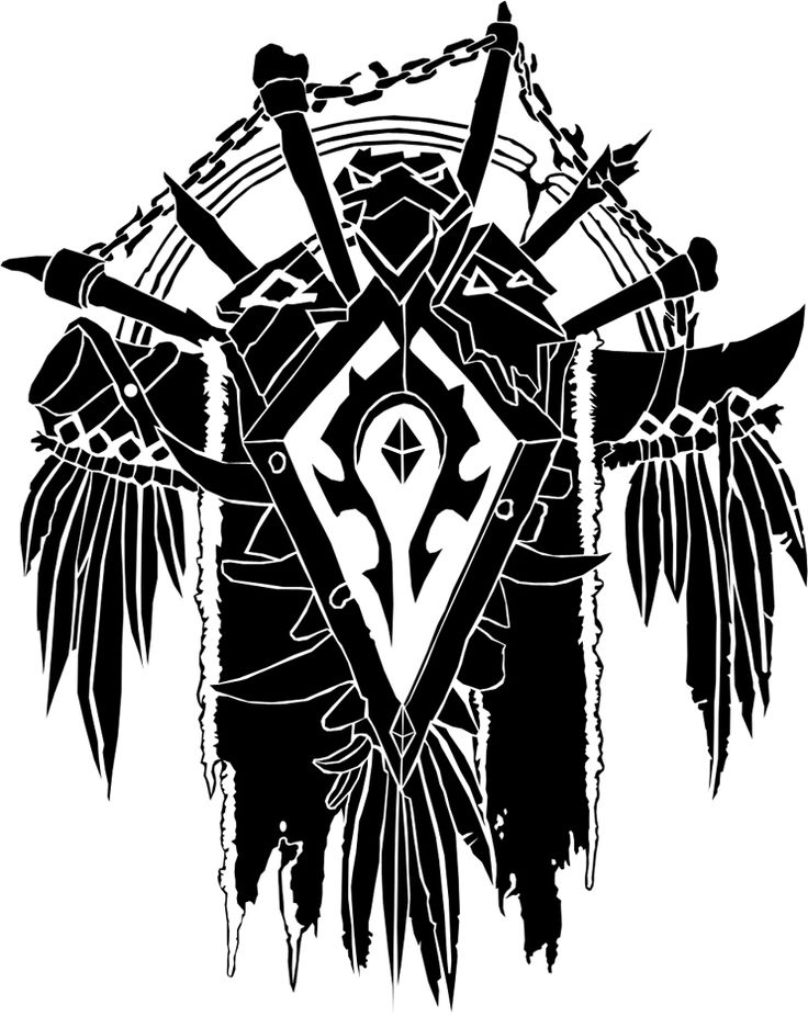 Horde Crest by ropa-to.deviantart.com on @deviantART