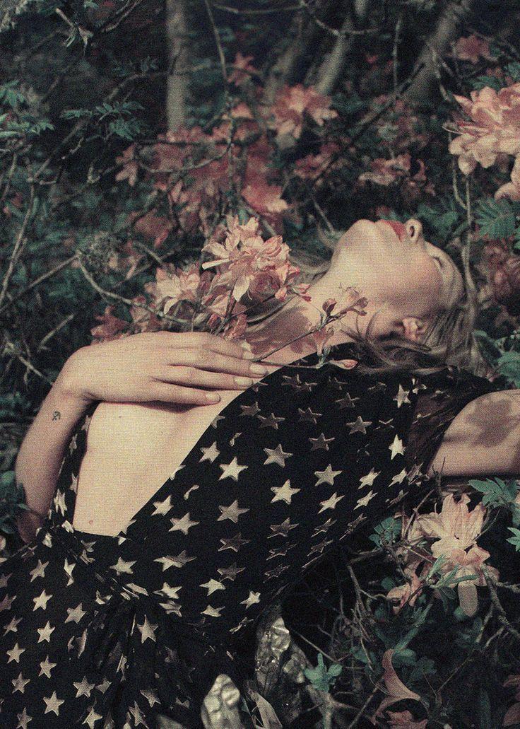 "Kate Moss in ""Wizard"" by Tim Walker for LOVE #12"