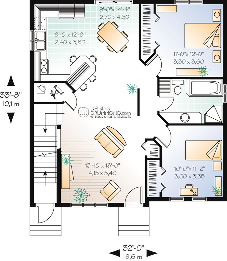 59 best Modèles de maison Jumelée, Plans de Duplex, Plans de Triplex