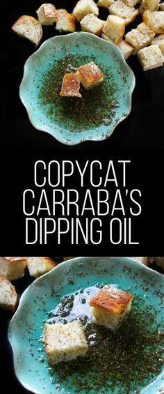 Copycat Carrrabba's Bread Dipping Oil