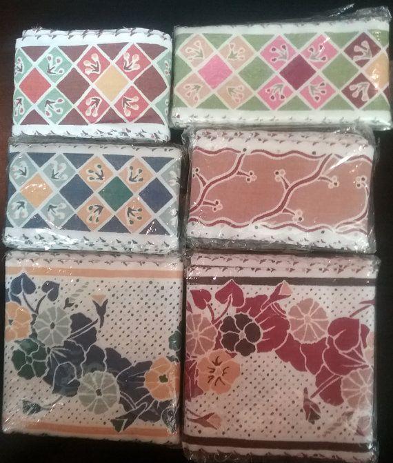 Hand Painted Fabric Strips Sophia Blackwell by jeanienineandme