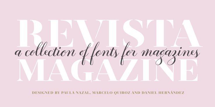 Revista - Webfont & Desktop font « MyFonts