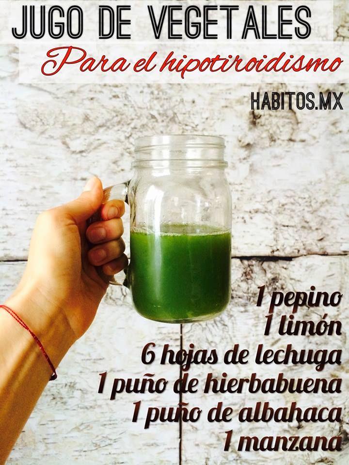 Hábitos Health Coaching | JUGO PARA EL HIPOTIROIDISMO