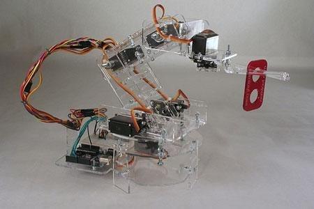 Pocket : Brazo robótico código abierto