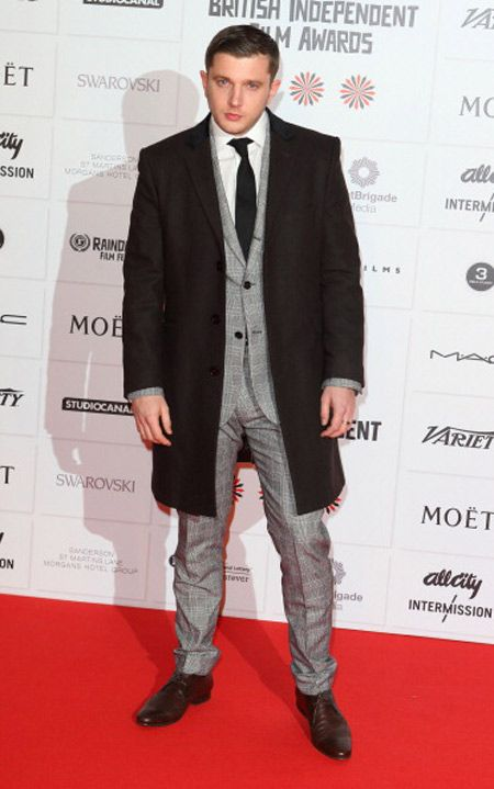 PLAN B WEARS REISS CHELSEA SUIT TO THE INDEPENDENT FILM AWARDS