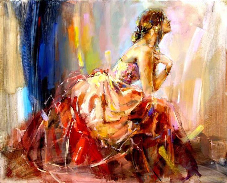 Anna Razumovskaya Praying For Love painting   framed paintings for sale