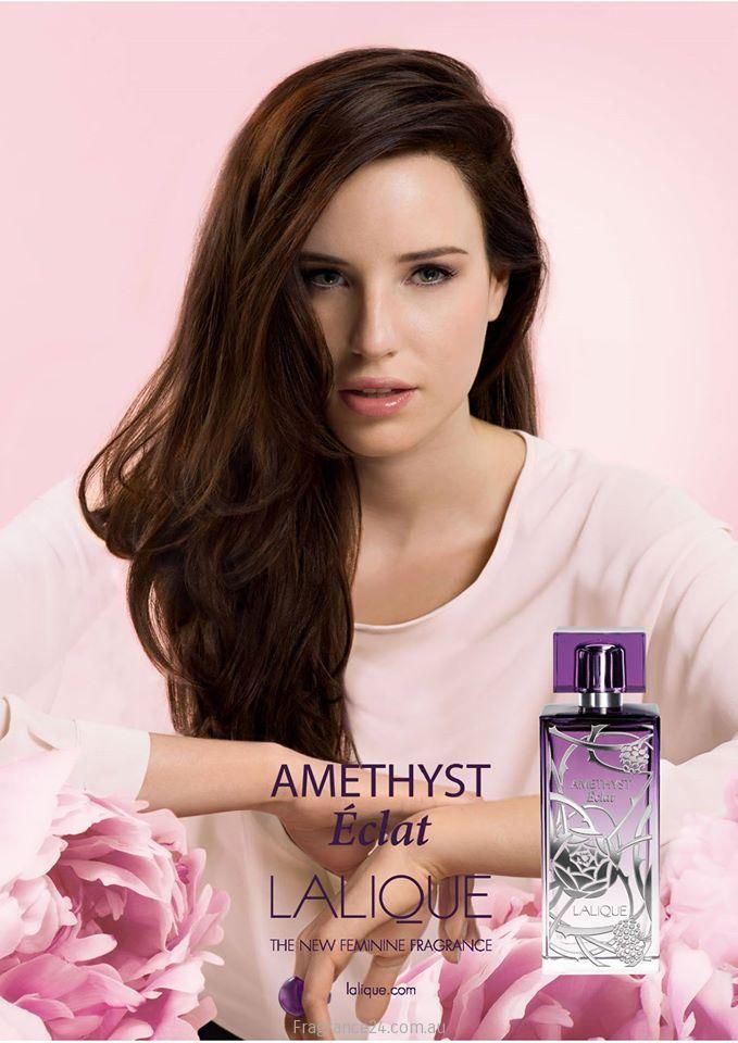Lalique will launch Amethyst Éclat, a new flanker to 2007′s Amethyst incense for women.This latest entry into the Lalique fragrance collection is a fruity floral developed by perfumer Nathalie Lorson (also responsible for Amethyst) that comes seven years after the original and intends to capture the bold berries and flowers of Amethyst in a more radiant light. Read more: http://www.fragrance24.com.au/woman/lalique-amethyst-eclat/