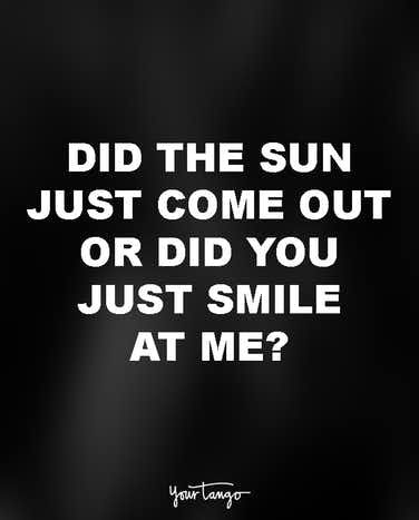 20 Cheesy Pick Up Lines Guaranteed To Make You Laugh | YourTango