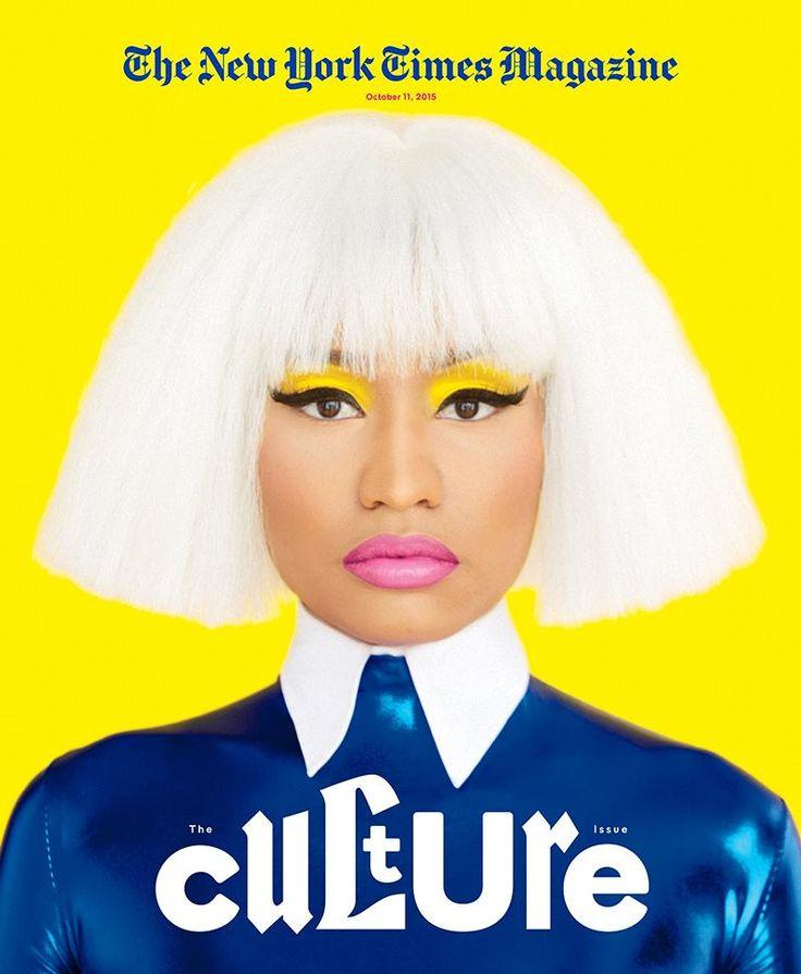 Nicki Minaj faltet eine Reporterin des 'New York Times ...