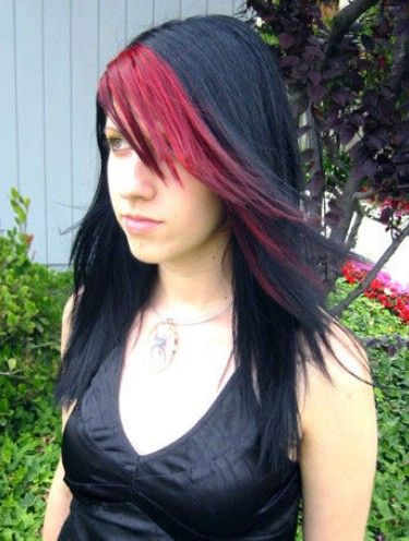 Popular Emo Hairstyles For Long Hair Emo Hairstyles Red