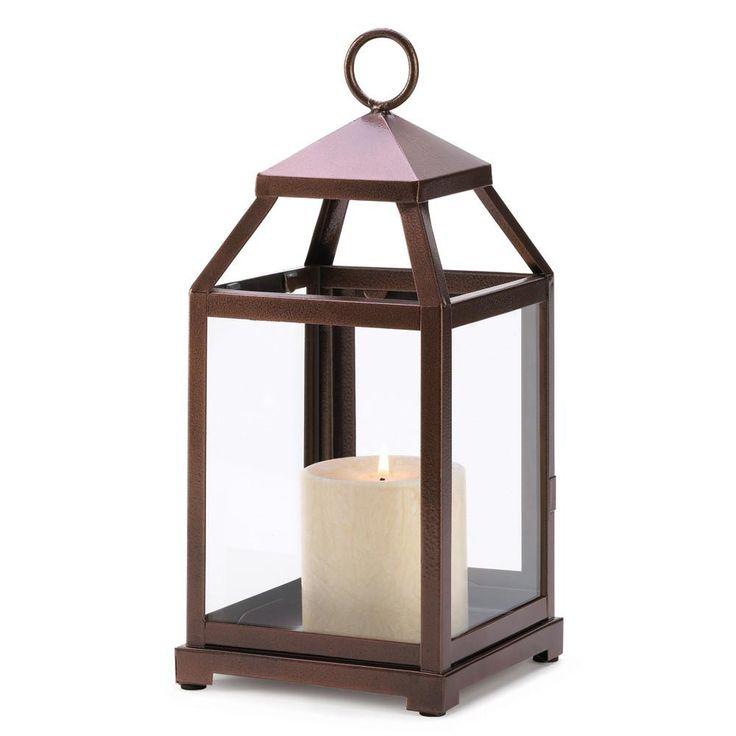 Bronze Contemporary Lantern