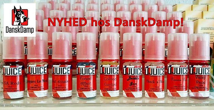 NEW IN STORE AND ON WEB: T-Juice... Mmmm....  http://danskdamp.dk/t-juice-69