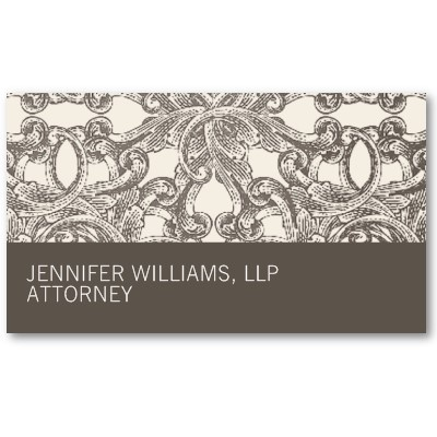 As 17 melhores imagens em business cards lawyer no pinterest taupe damask attorney lawyer business card reheart Images