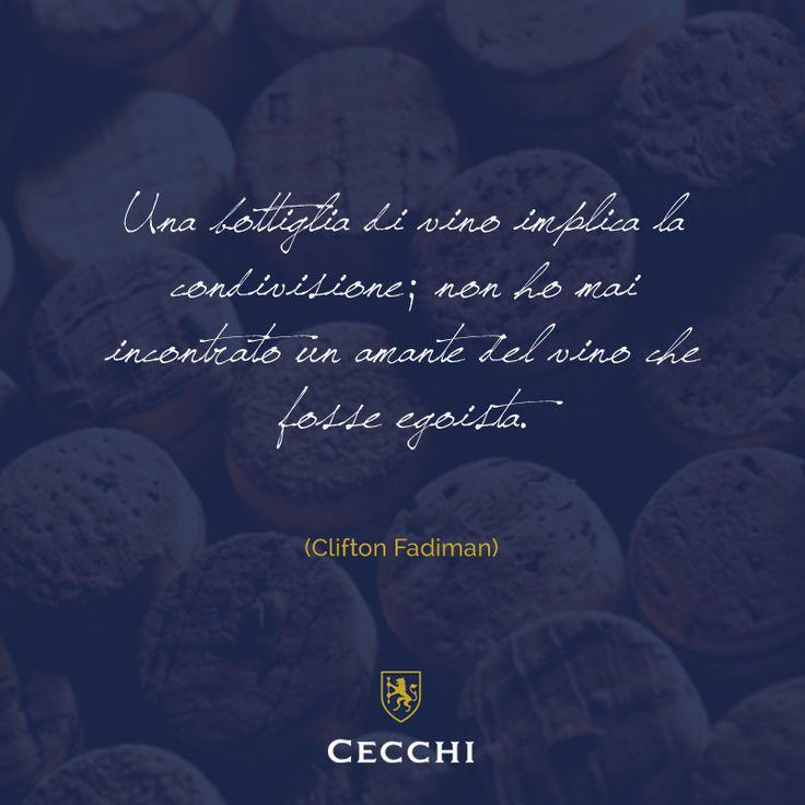 Citazione di Clifton Fadiman sul #vino