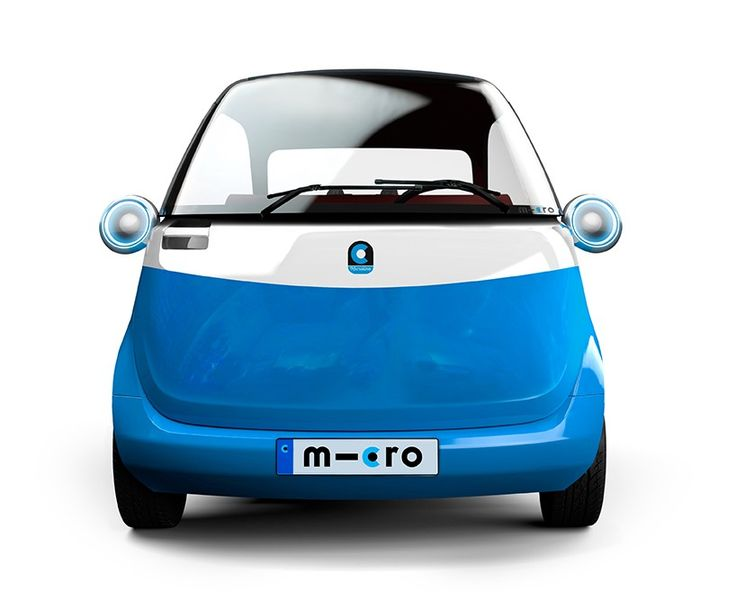 being only 2.4 meters in length, two microlinos can be parked in a single conventional parking space.