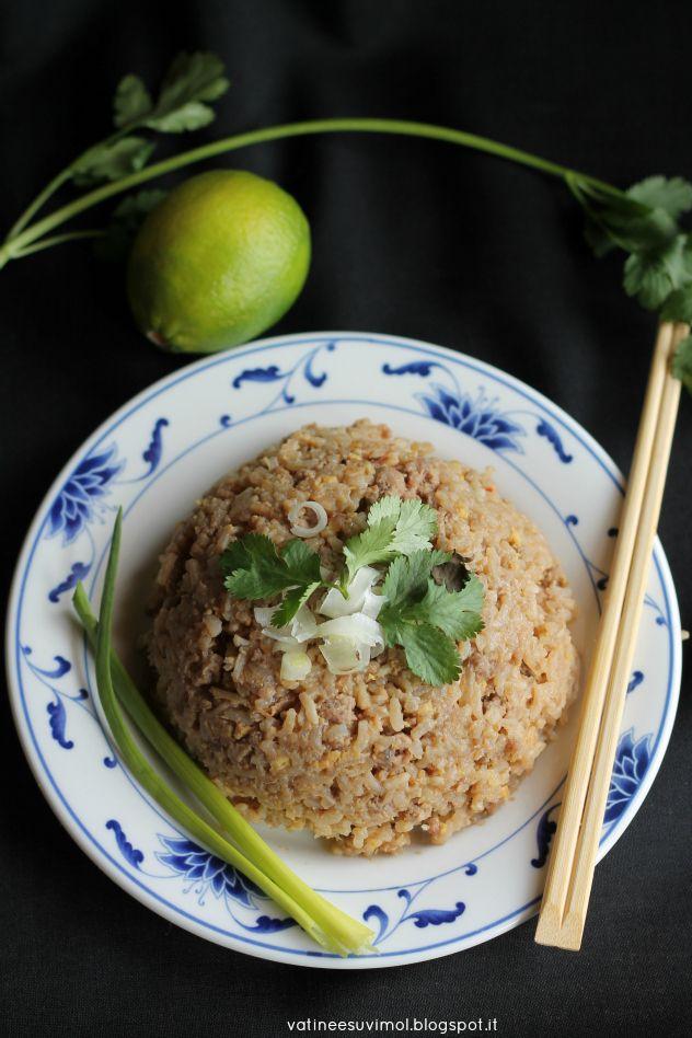 Khao pad (riso fritto thai) | A Thai Pianist