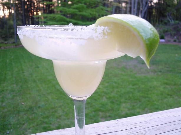 Perfect Margarita from Food.com: You can adjust the strength of this drink by changing the amount of lime juices used, but it is important to keep the two amounts of lime juice equal.