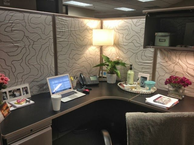 12 best images about cube idea on pinterest sculpture for Decorating your work cubicle