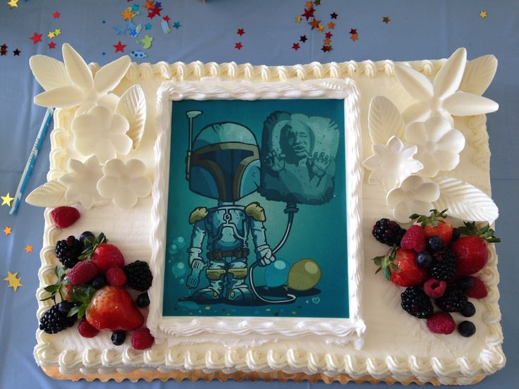 Our Star Wars Baby Shower Cake! We Gave The Image To The Bakery And They