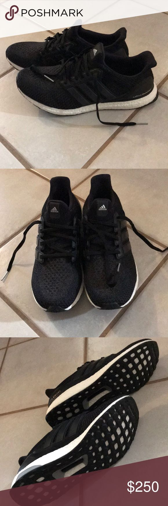Men's Adidas Ultra Boost  Size 12 Brand new men's Adidas ultra boost shoes.  Size 12.  Never used. No tags adidas Shoes Sneakers